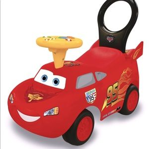 Kiddieland Toys Drive Along Lightning Ride On
